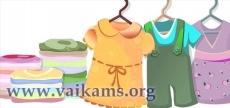rusiuoti vaikiski drabuziai urmu