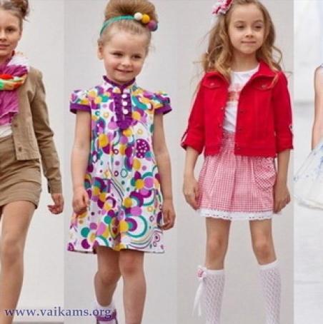 nertos sukneles vaikams
